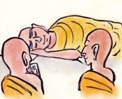 仏陀 二人の弟子 お葬式の流れ