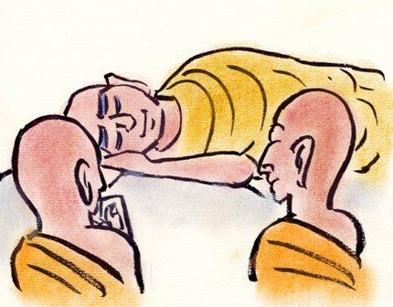 仏陀 二人の弟子