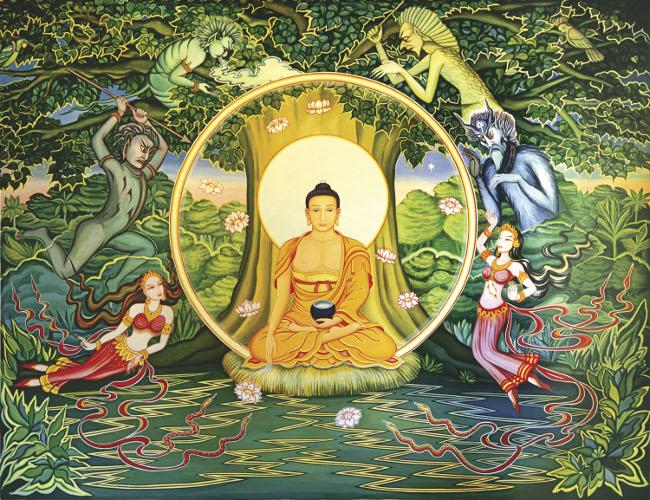仏陀 菩提樹