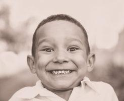 笑顔の少年 お葬式の流れ